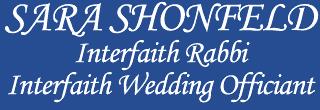 Sara Shonfeld: Interfaith Wedding Officiant